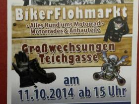 Bikerflohmarkt Großwechsungen