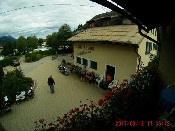 Trudenfahrt Rheinland - Adria: s'Wirtshaus Müllmann in Kötschach