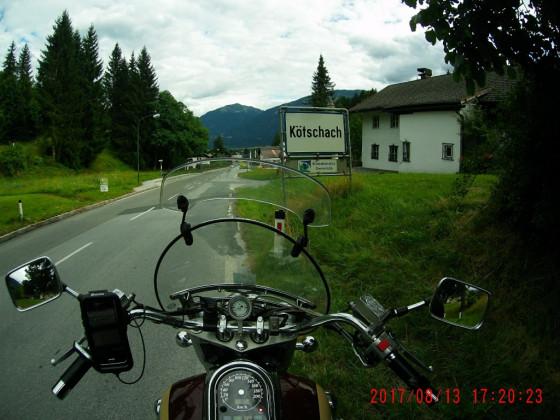 Trudenfahrt Rheinland - Adria: Kötschach im Geiltal