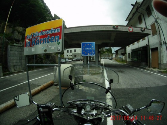 Trudenfahrt Rheinland - Adria: Kärnten ade - Bella Italia